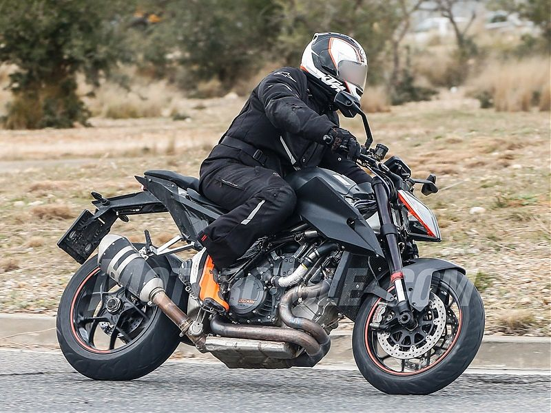 Fotos de la futura KTM 1290 Super Duke R 2019
