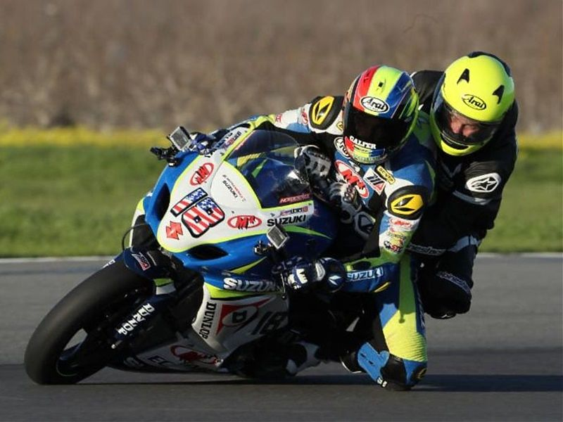 Dunlop M4 Suzuki Two-Seat Superbike Program 01