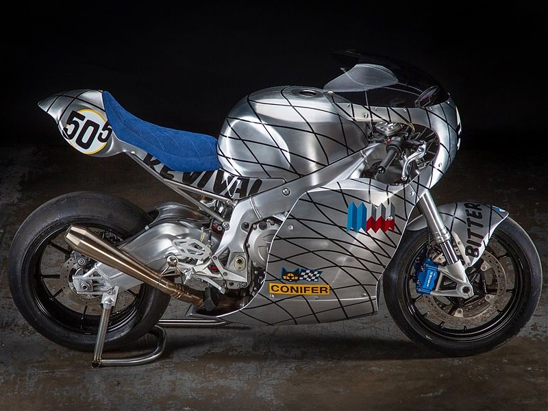BMW S1000RR Speed Metal por Revival Cycles