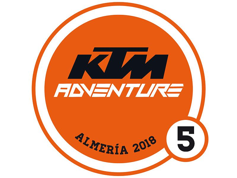Logotipo Reunión KTM Adventure 2018