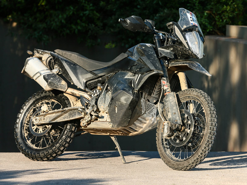 KTM 790 Adventure R 2019 en el European Adventure Rally 2018