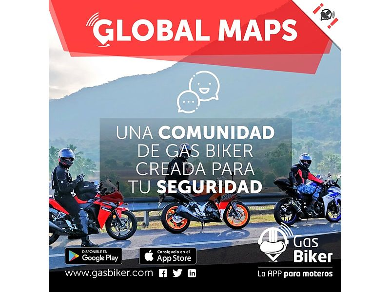Gas Biker crea Global Maps