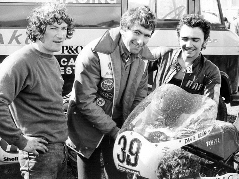 Jim, Joey y Robert Dunlop