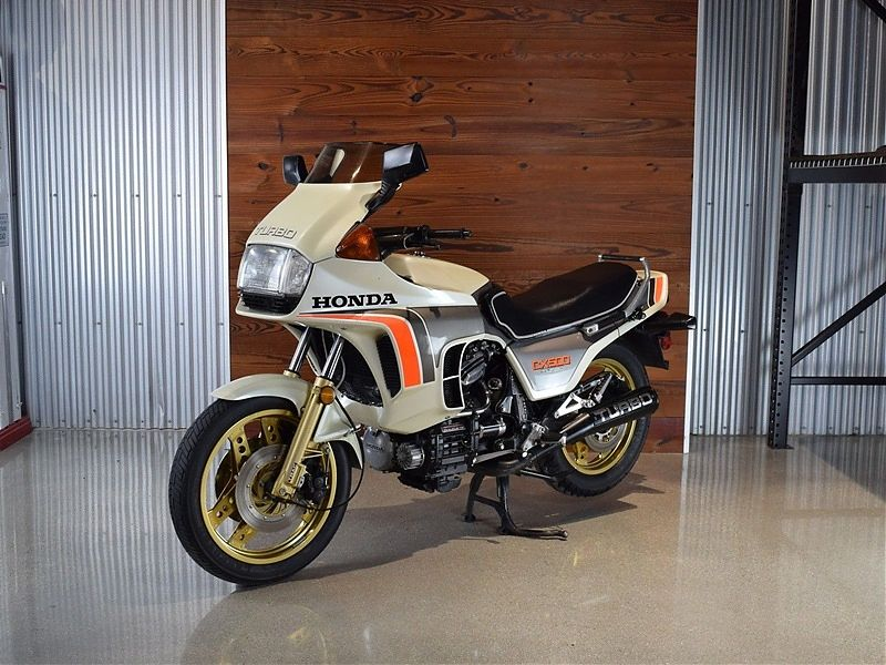 Honda CX500 Turbo de 1982