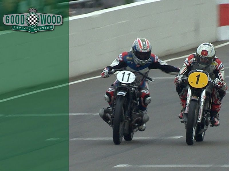 Troy Corser en Goodwood 2018