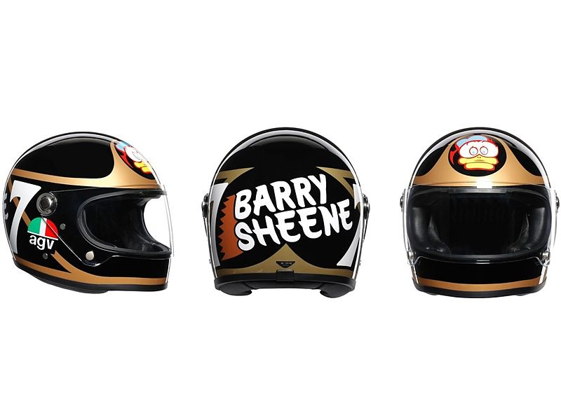 AGV X3000 réplica Barry Sheene