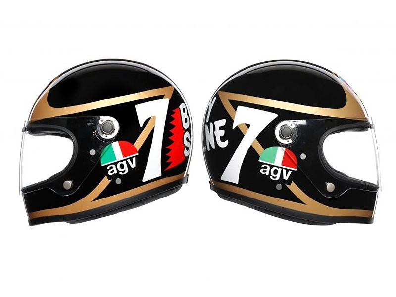 AGV X3000 réplica Barry Sheene - lateral