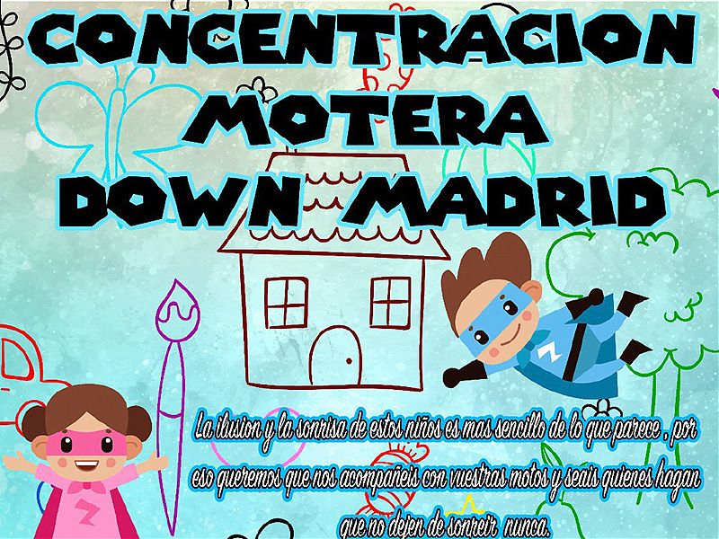 Concentración Motera Down Madrid