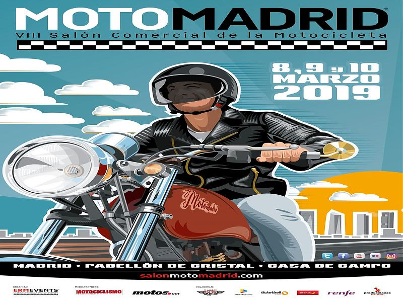 Cartel MotoMadrid 2019