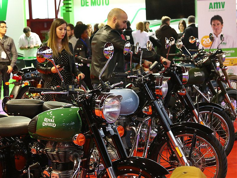 Stand Royal Enfield MotoMadrid 2019