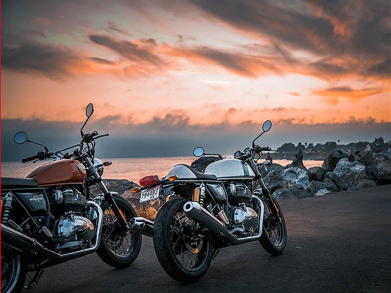 Nuevas Royal Enfield Interceptor INT 650 y Continental GT 650 2019