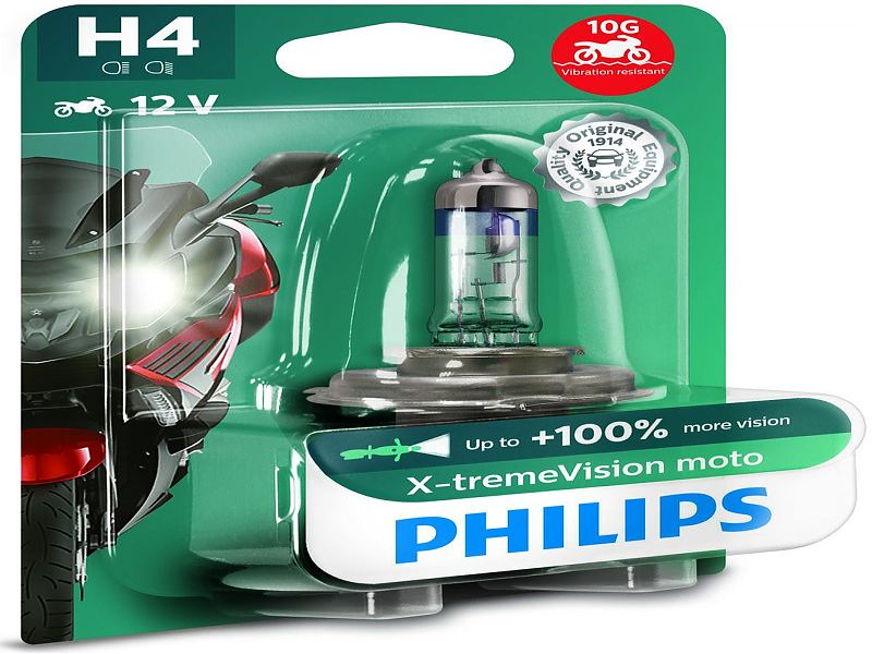 Bombilla Philips Xtreme Vision H4