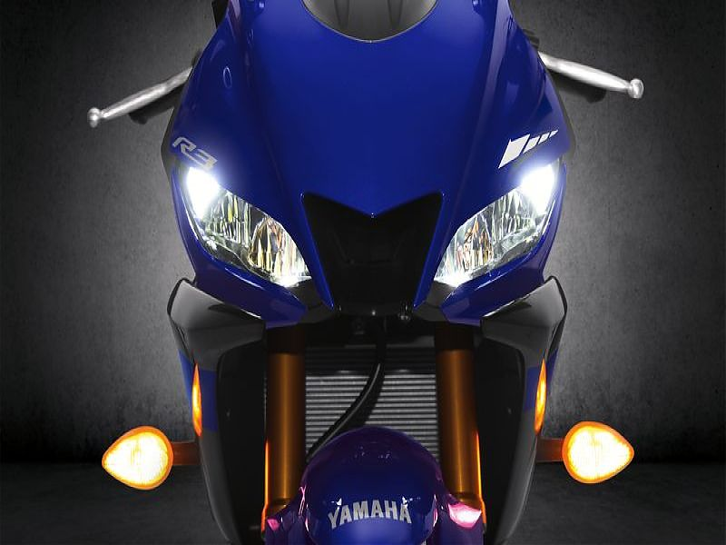 Nueva Yamaha YZF R3 2019: luces LED