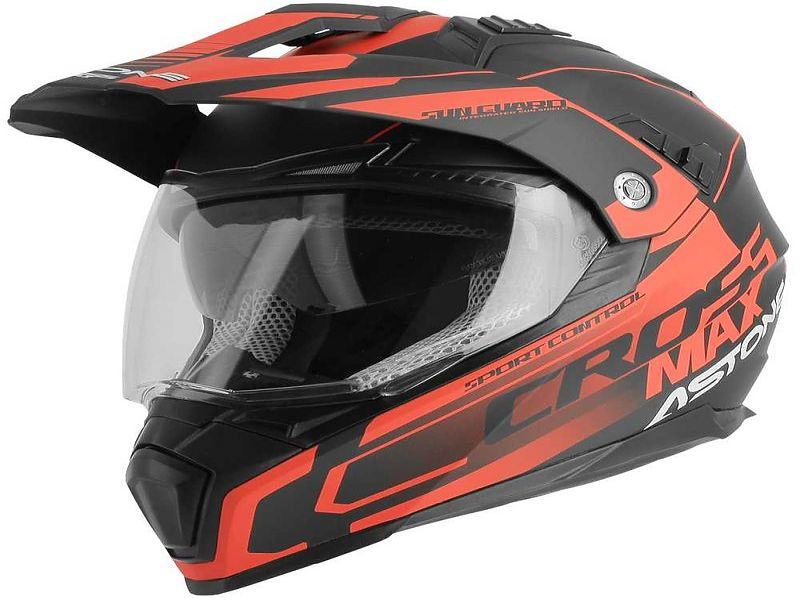 Crossmax Road Matt Black Grey Red