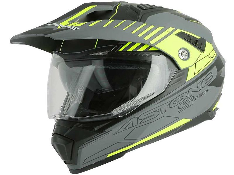 Crossmax S-Tech Matt Grey Yellow