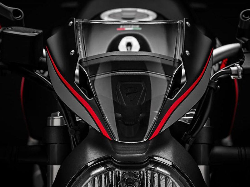 Mini-parabrisas de la Ducati Monster 821 Stealth