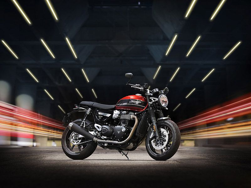 Triumph Speed Twin 2019 roja