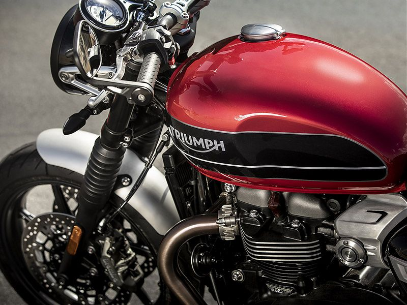 Depósito de gasolina de la Triumph Speed Twin