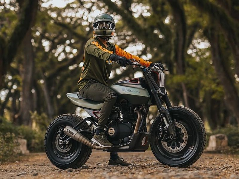 Royal Enfield Project SG411 - piloto