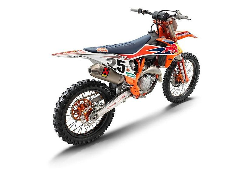 KTM 450 SX-F Factory edition 2019 vista trasera
