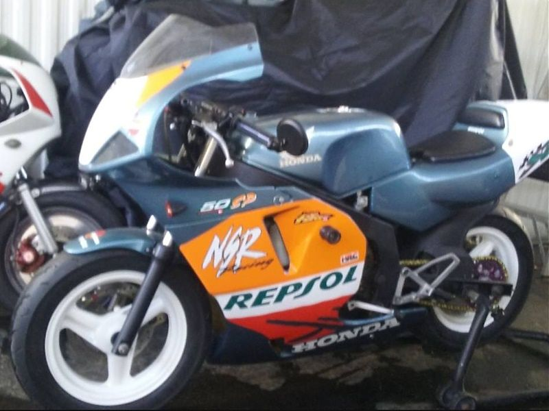 Honda NSR50 Street Legal - lateral
