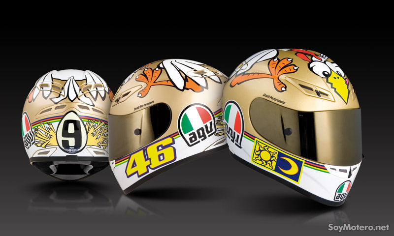 Agv gp tech edici n limitada the chicken motos for Cascos de cocina baratos