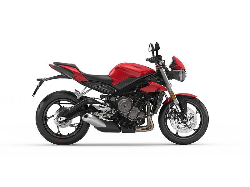 Triumph Street Triple S A2 color rojo