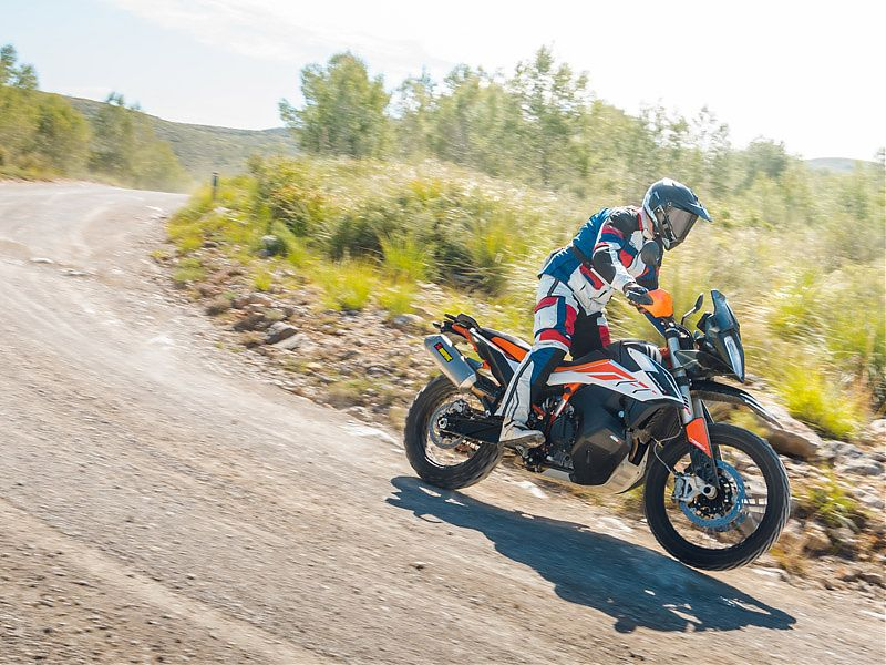 La KTM 790 Adventure R dispone de modo de conducción Rally