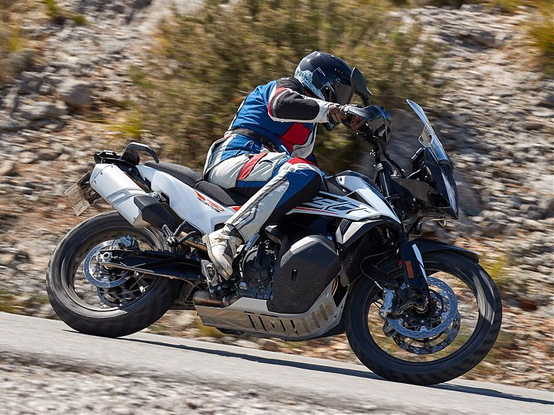 La KTM 790 Adventure dispone de 3 modos de conducción
