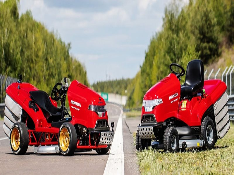 Honda Mean Mower y real