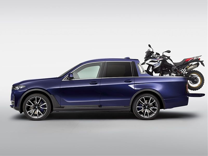 BMW X7 pick-up - lateral