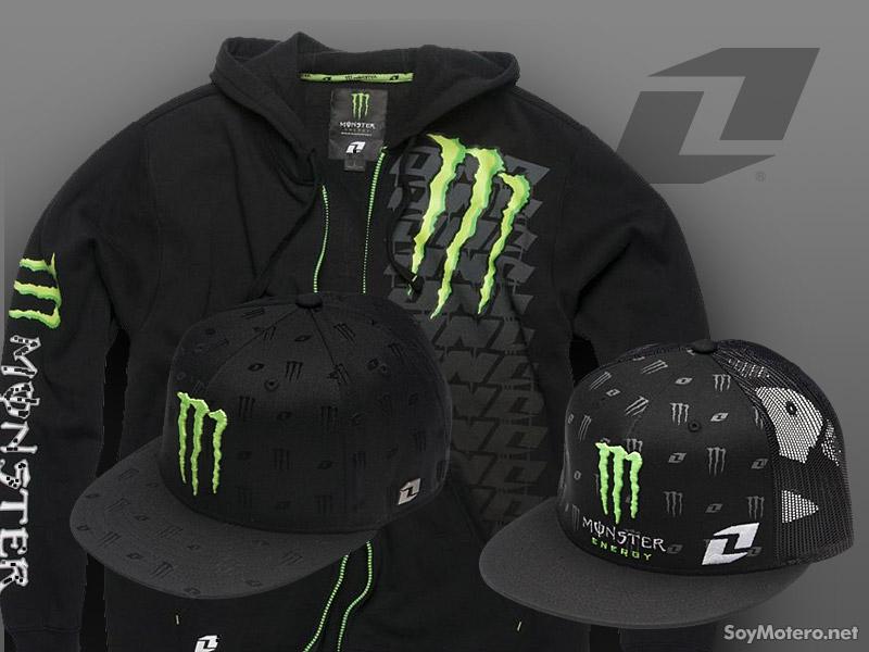 Nuevas gorras y chaqueta Monster Energy de One Industries  143bc754698