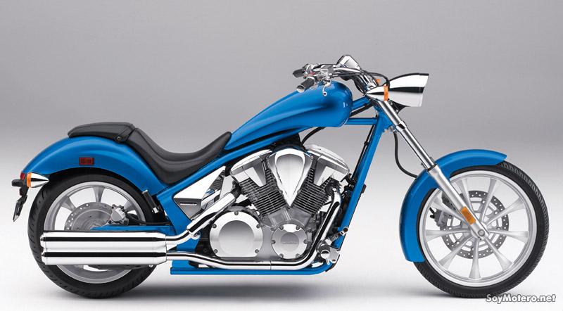 Nueva Honda Fury, una chopper sencillamente preciosa | Motos | Motos ...