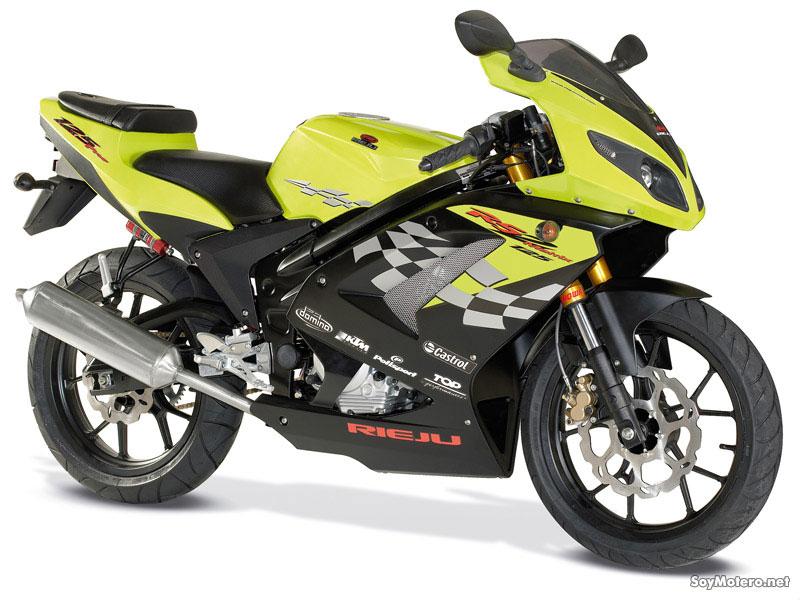 Rieju Rs2 Pro 125on Suzuki Cafe Racer Motorcycle