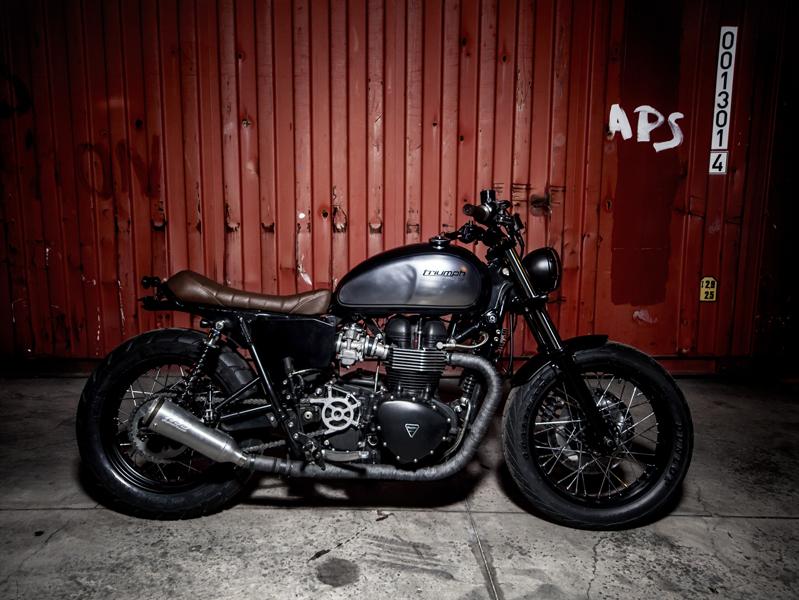 Triumph Bonneville Se Dusty Pearl 12486