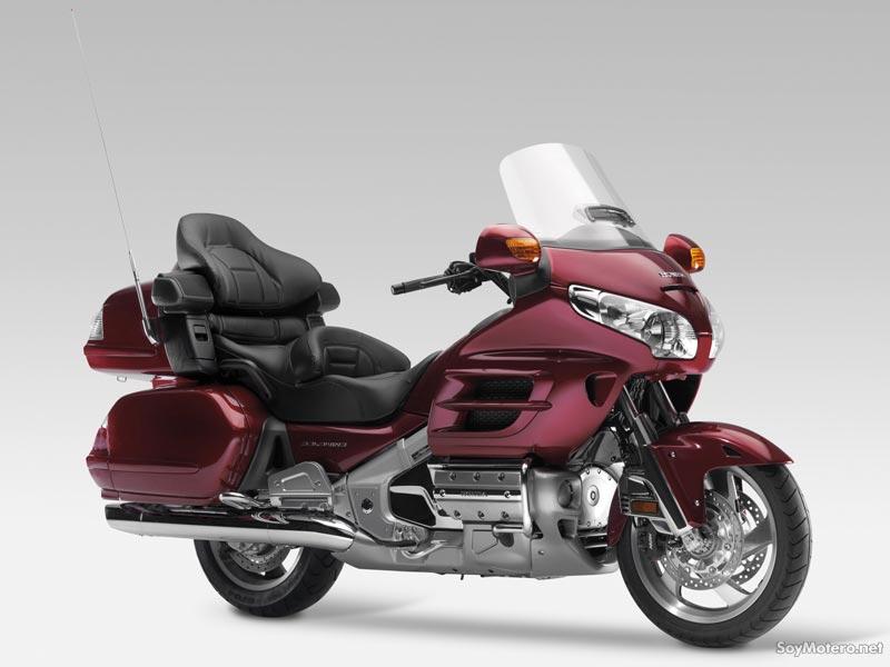 Honda Goldwing GL1800: Ficha técnica, fotos, vídeos, comentarios y más