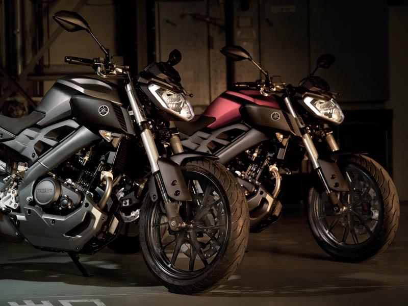 yamaha mt 125 2014 la peque a de la saga motos yamaha motos naked. Black Bedroom Furniture Sets. Home Design Ideas