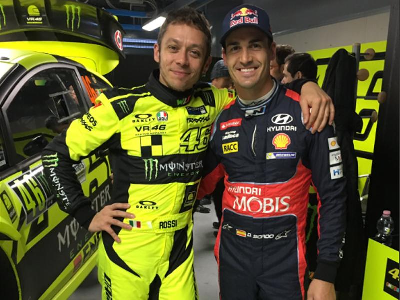 Rally Monza Show 2016: Rossi se batirá con Sordo este fin de semana