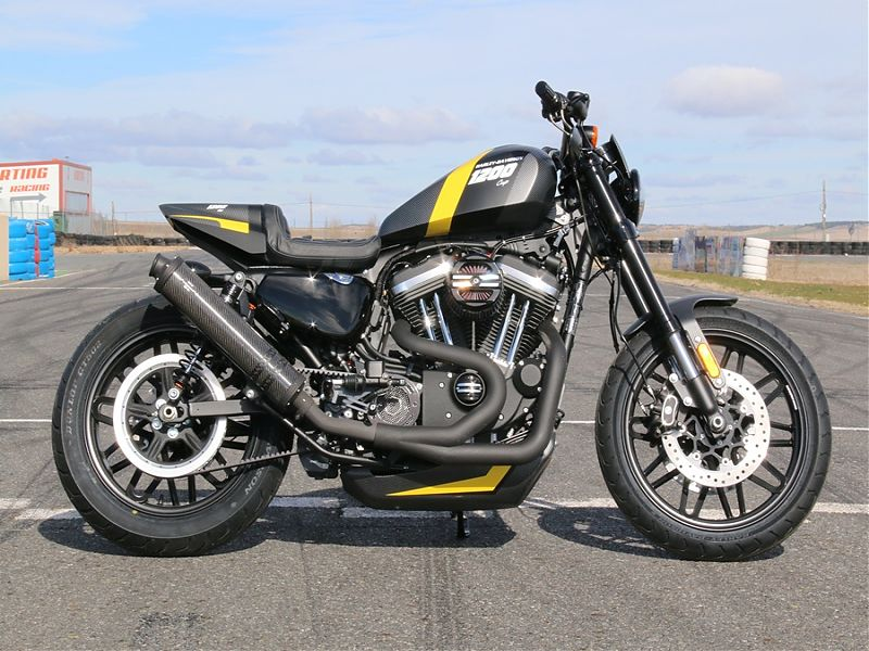 Harley-Davidson Roadster Capital 1200 Cup 2017