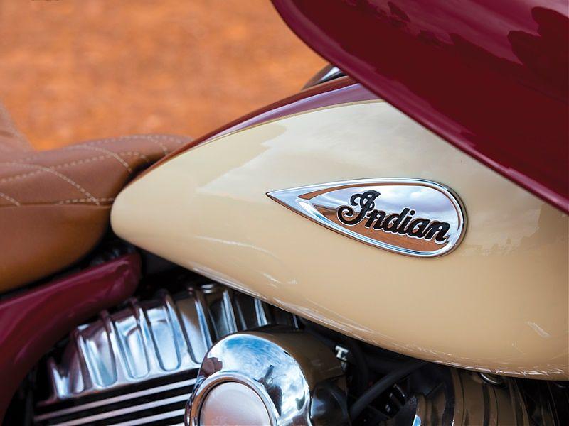Indian Roadmaster Classic 2017, logo depósito