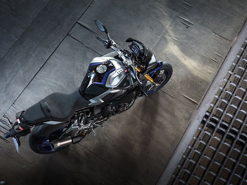 Los colores racing son exclusivos de la Yamaha MT-10 SP