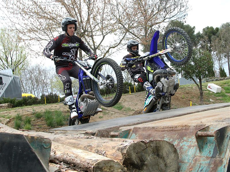 Exhibiciones off road en MotoMadrid 2017