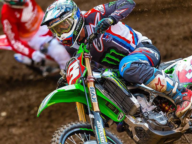 SX East Rutherford: Eli Tomac.