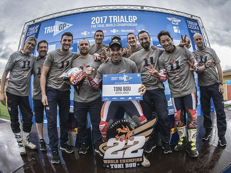 Repsol Trial Team 2017.
