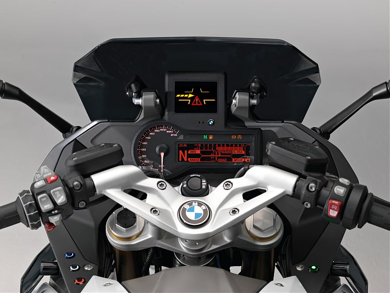 BMW R1200RS Connected Drive