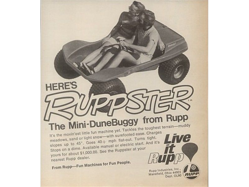 Rupp Industries - Ruppster