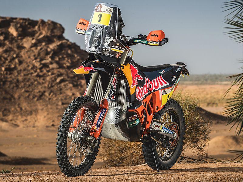 Ktm 450 rally 2018 suma y sigue nuevas motos zonaoff - Image de moto ktm ...