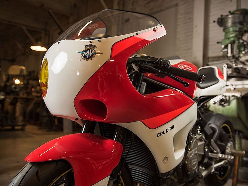 MV Agusta Bol d'Or Series - frontal