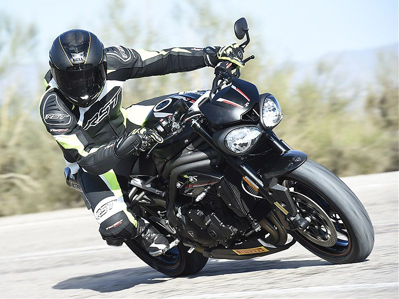 La Triumph Speed Triple RS incluye 5 modos de conducción