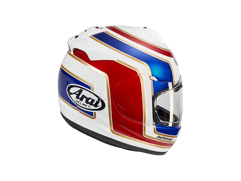 Arai Axces-3 Matrix Red - trasera